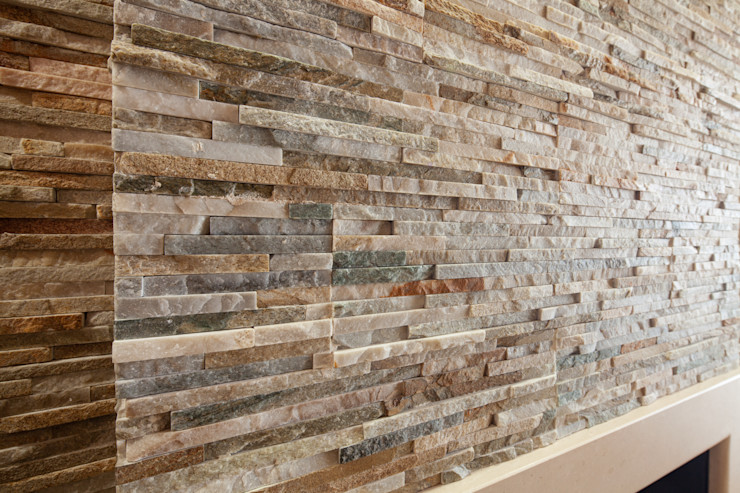 antonio felicetti architettura & interior design Ruang Makan Klasik Batu Beige