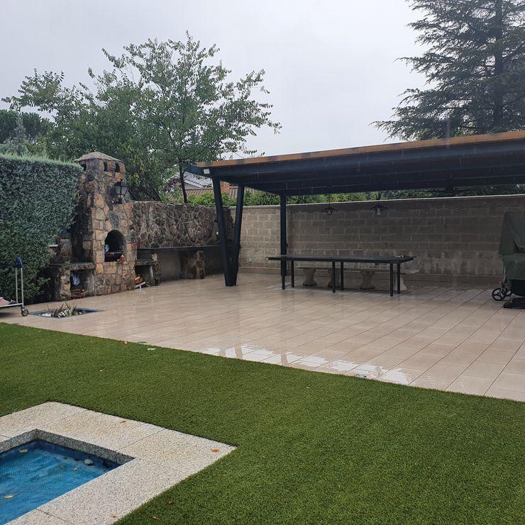vista general terminada MULTISERVICIOS EGO INGENIEROS SL Jardines de estilo rural