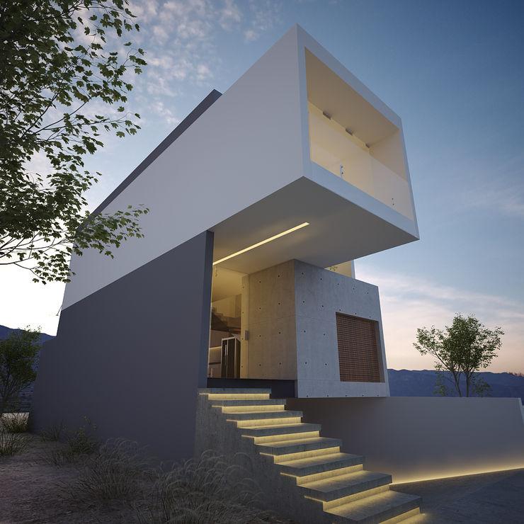 21arquitectos Minimalist houses