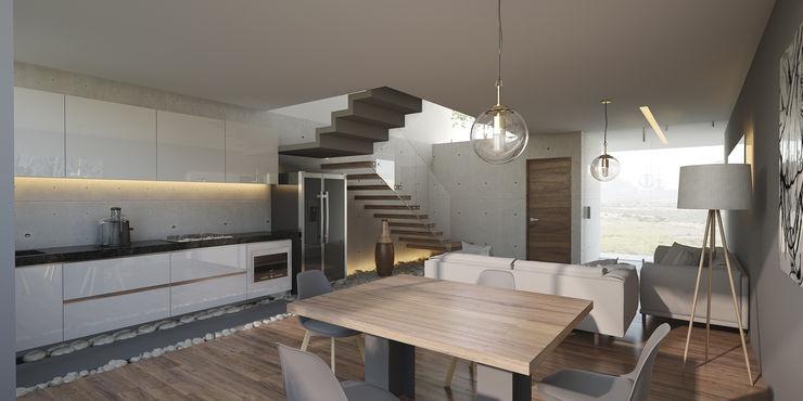 21arquitectos Minimalist living room