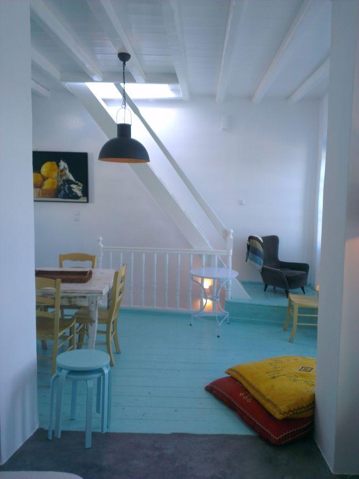 Ristrutturazione di una casa nella Xora di Paros_Cicaldi _GRECIA studio patrocchi Scale