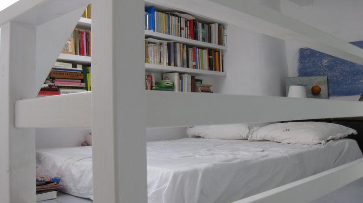soppalco letto studio patrocchi Soggiorno in stile mediterraneo