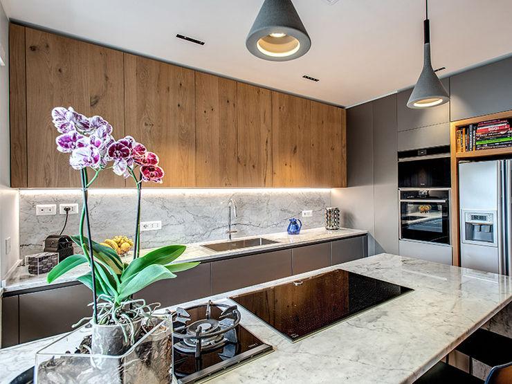 ROCCI MOB ARCHITECTS Cucina moderna