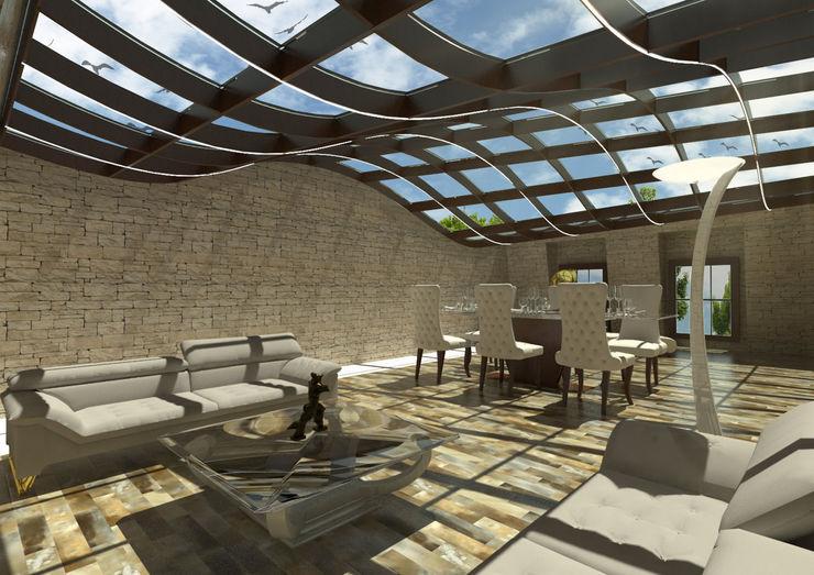 Mayfair House Debbie Flevotomou Architects Ltd. Roof
