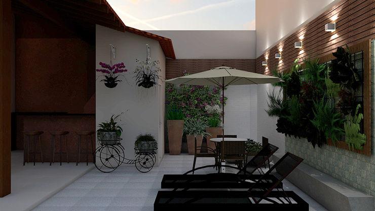 Espaço de Lazer SCK Arquitetos Casas modernas