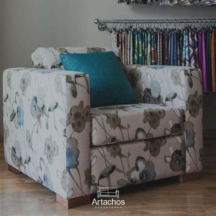 Poltrona Artachos Decorações Sala de estarBancos e cadeiras