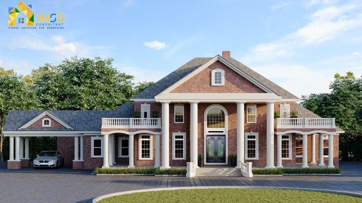3D Architectural Visualization Services St. Louis Missouri JMSD Consultant - 3D Architectural Visualization Studio Villas Tiles Grey