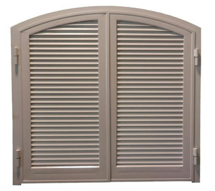 LE.ALL.FER. S.r.l. Shutters Iron/Steel Brown