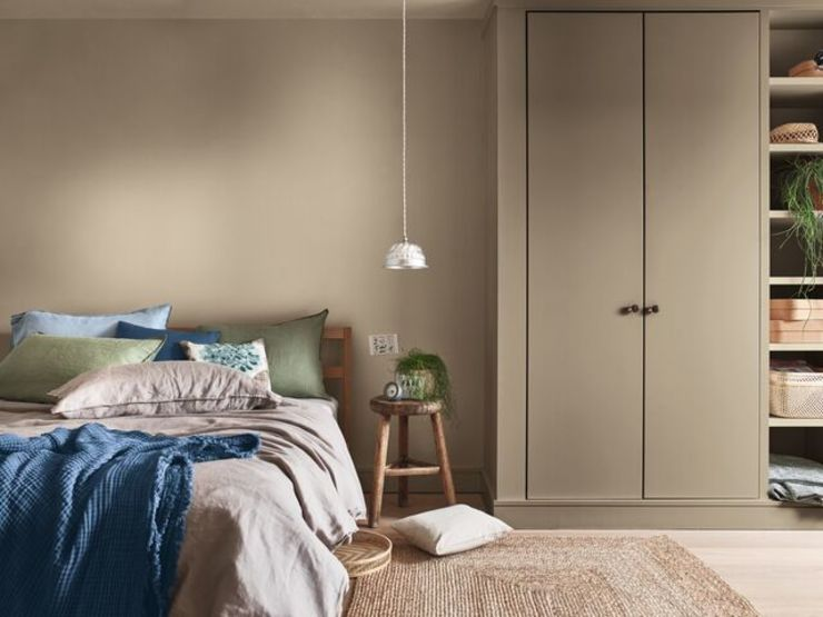Dulux Colour of the Year 2021 in your bedroom - Trust palette Dulux UK BedroomAccessories & decoration Beige