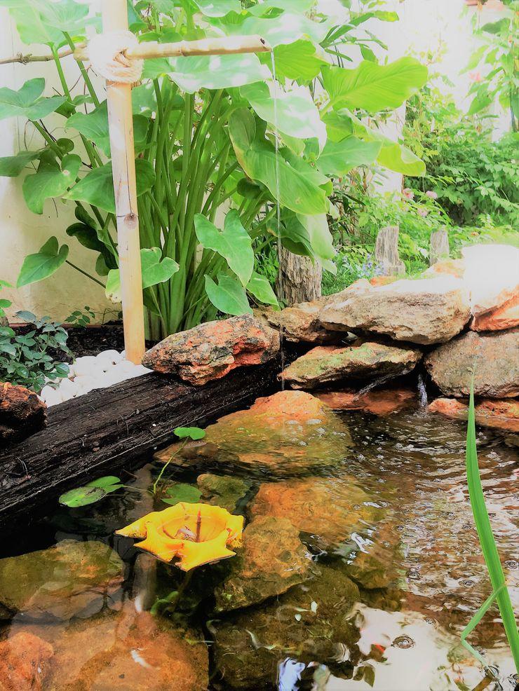 Jardines Feng Shui Garden Pond