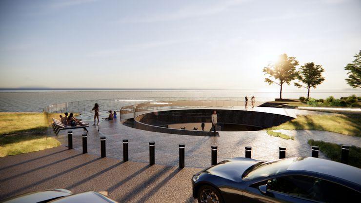 TheeAe Architects Rock Garden