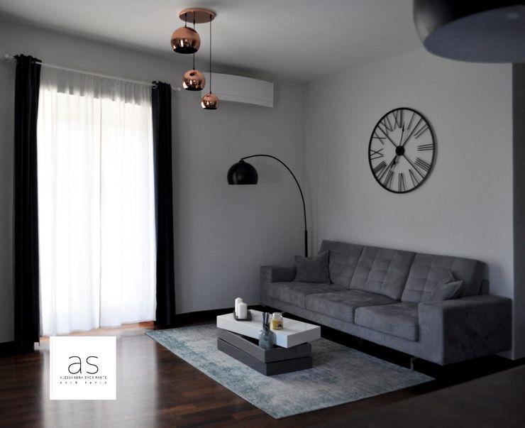 zona living Alessandra Sacripante Soggiorno moderno
