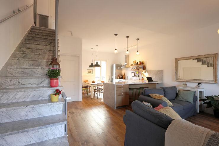 Casa Arbib Daniele Arcomano Soggiorno moderno