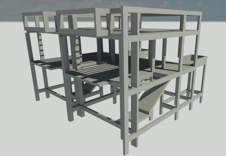 GANDZA ENGENHARIA Floors Concrete