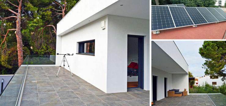 jjdelgado arquitectura Varandas, alpendres e terraços minimalistas