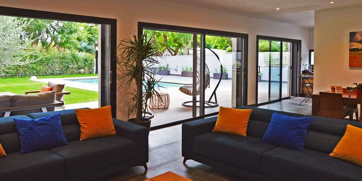 jjdelgado arquitectura Salas de estar minimalistas