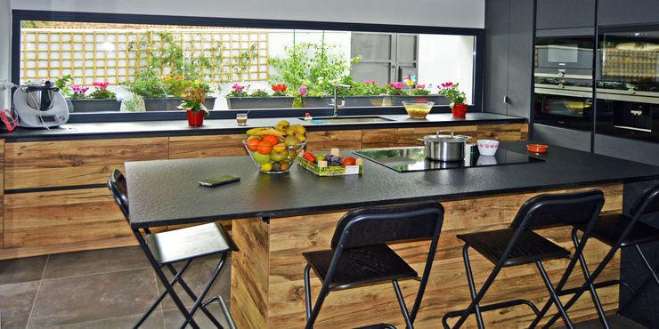 jjdelgado arquitectura Cozinhas minimalistas