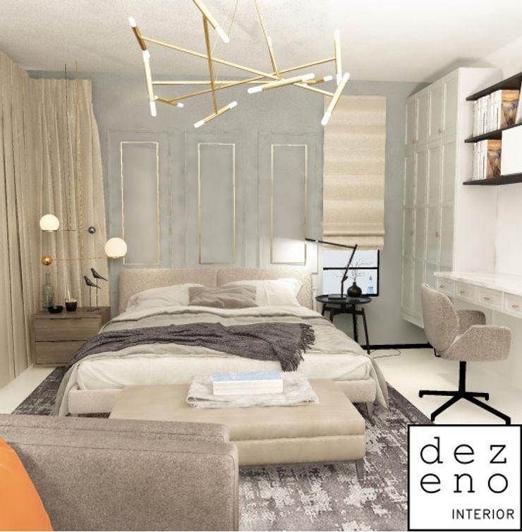 BEDROOM Dezeno Sdn Bhd Small bedroom Grey