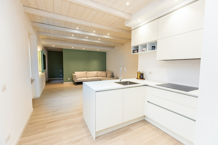 Open Space Yome - your tailored home Cucina moderna