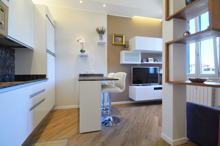 Open Space Yome - your tailored home Soggiorno moderno