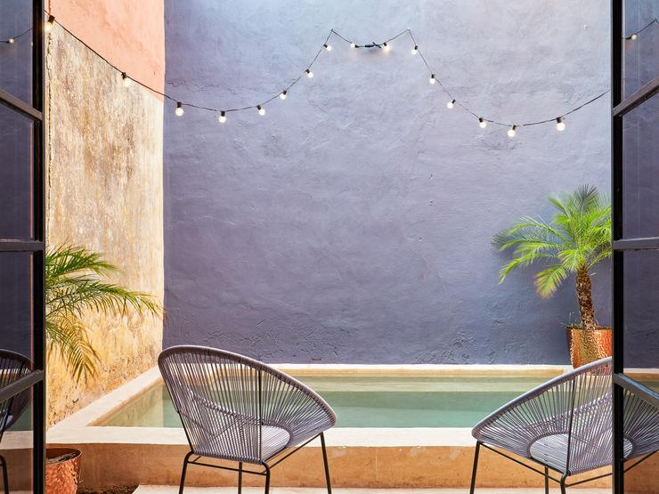Quinto Distrito Arquitectura Садовий басейн Бетон Синій