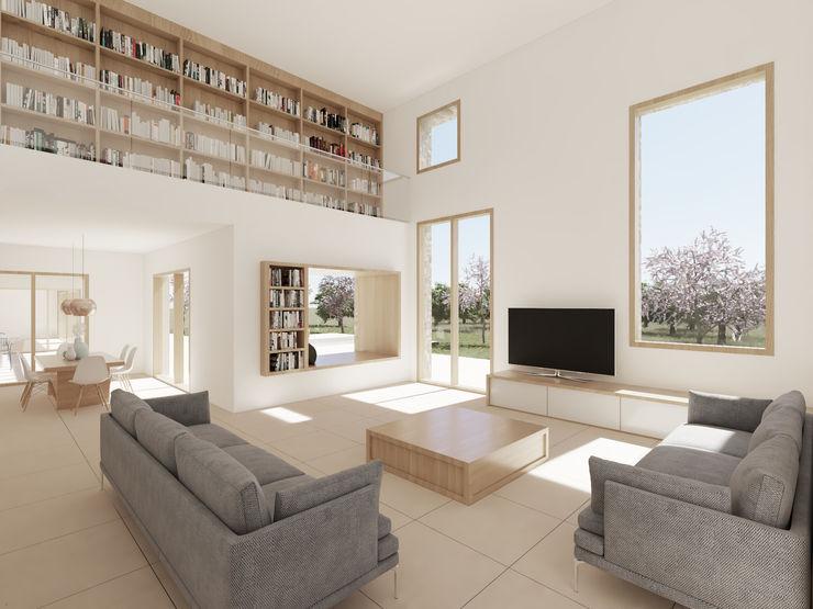 CM ARQUITECTURA Modern living room