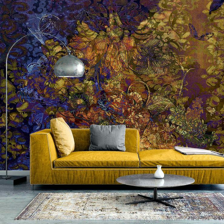 La Aurelia Walls & flooringWallpaper Amber/Gold