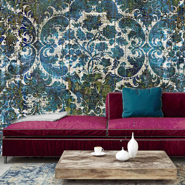La Aurelia Walls & flooringWallpaper Blue