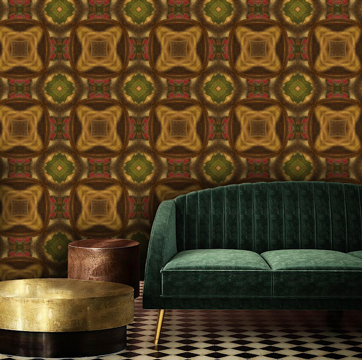 La Aurelia Walls & flooringWallpaper Orange