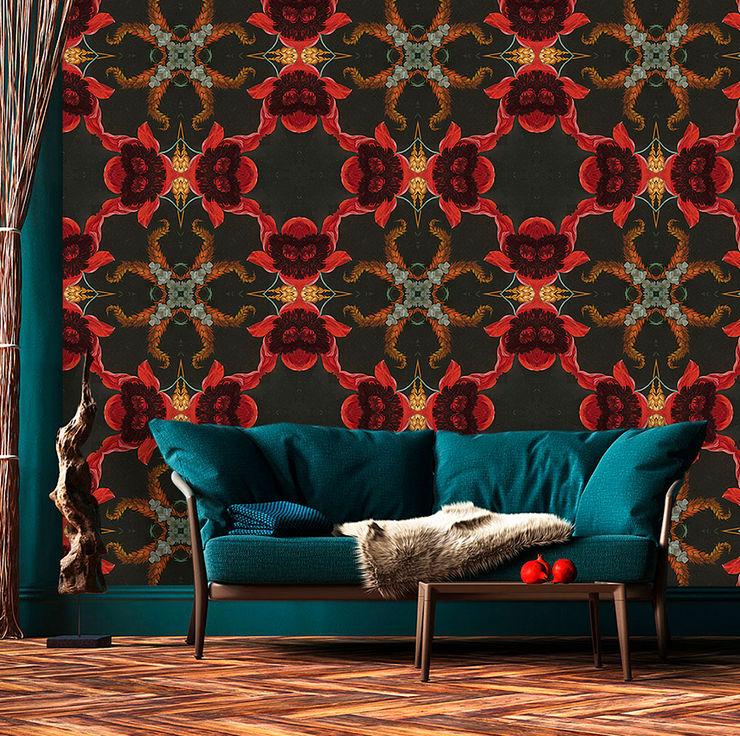 La Aurelia Walls & flooringWallpaper Red