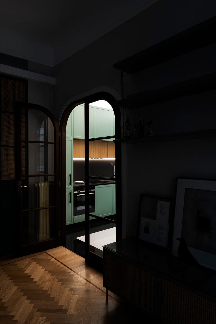 PLUS ULTRA studio КухняОсвітлення Янтарний / Золотий