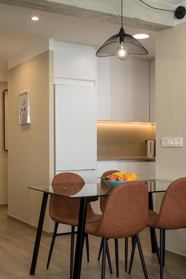 SALÓN-COMEDOR inbasi Interiorismo y Decoración S.L.U. Salones de estilo moderno