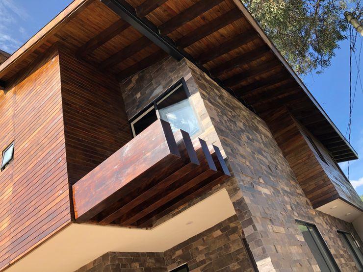 VILLATOSCANA Casas y cabañas de Madera -GRUPO CONSTRUCTOR RIO DORADO (MRD-TADPYC) Cabañas de madera