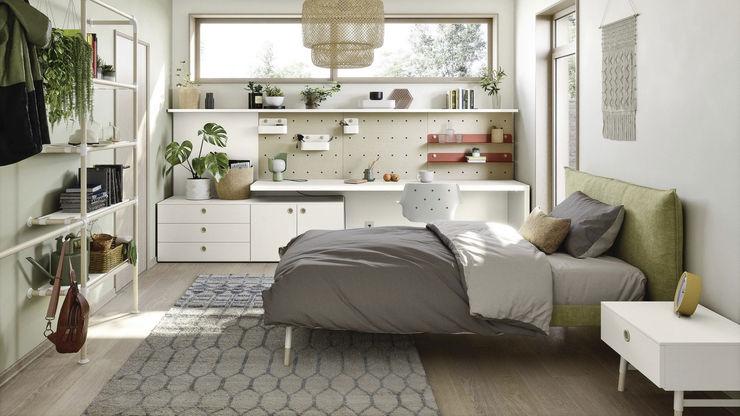 Camera ragazzi con scrivania TopArredi Camera da letto moderna Legno composito
