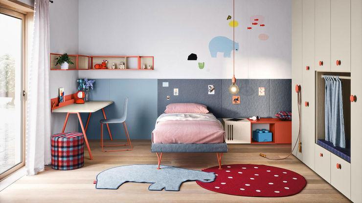 Cameretta bambino colorata e moderna TopArredi Camera da letto moderna Legno composito
