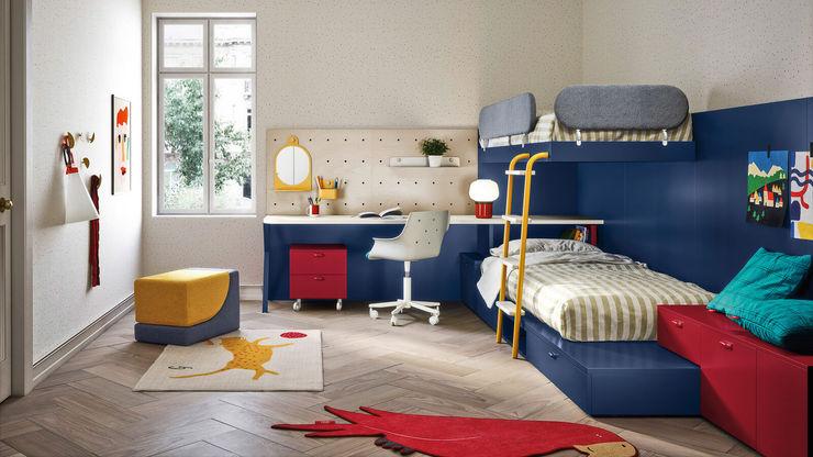 Cameretta bambini con letto a soppalco TopArredi Camera da letto moderna Legno composito