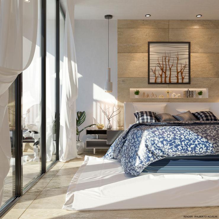 DORMITORIO ivvarquitectos Dormitorios de estilo minimalista