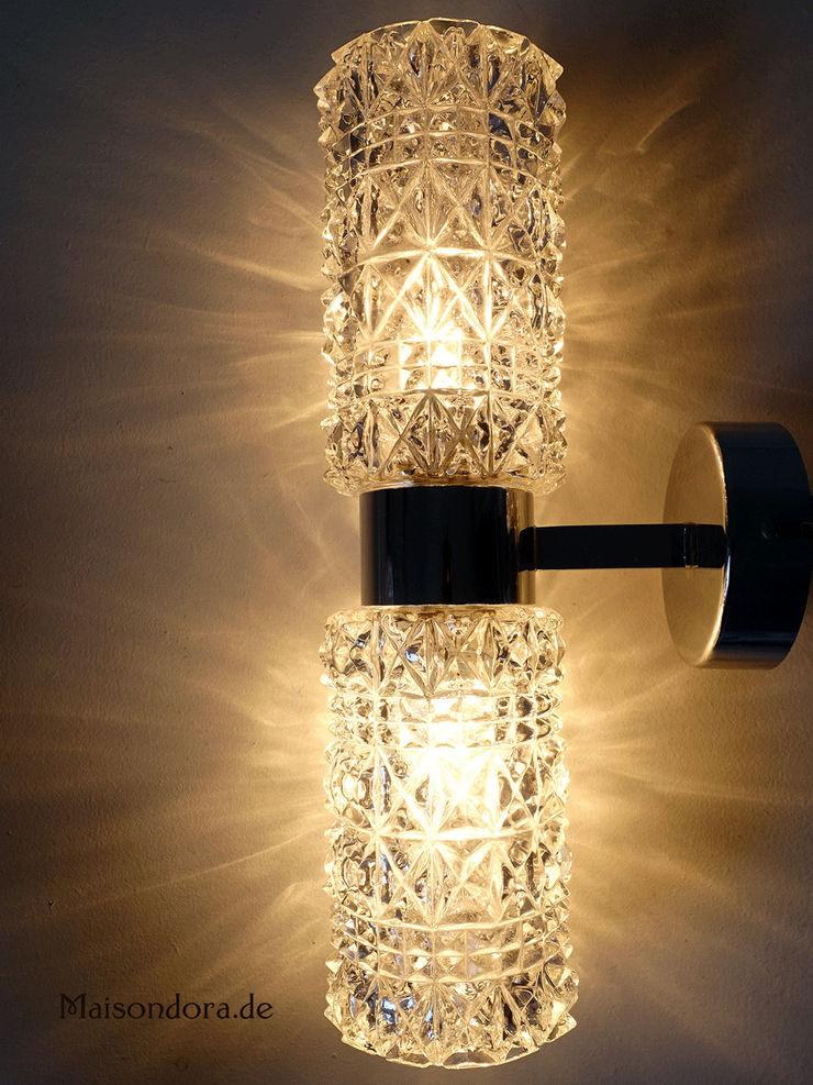 Maisondora Vintage Living BathroomLighting Glass Transparent