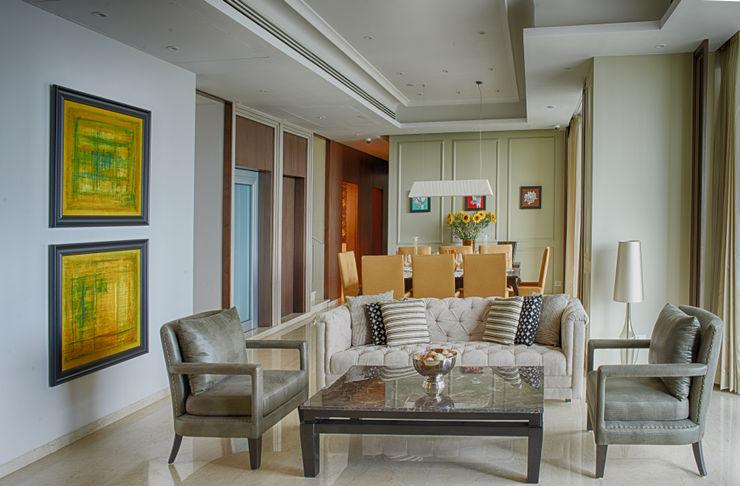 Anusha Technovision Pvt. Ltd. Modern Living Room