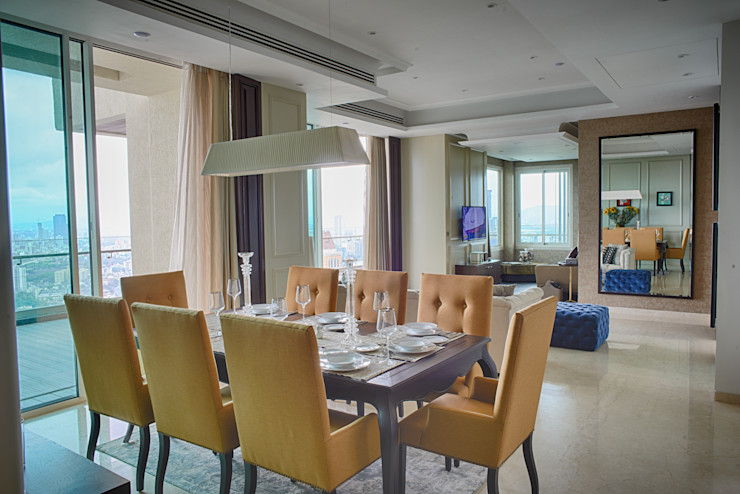 Anusha Technovision Pvt. Ltd. Modern Dining Room