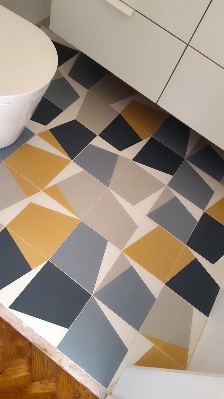 ARCHDESIGN LX Baños de estilo ecléctico Cerámico Multicolor