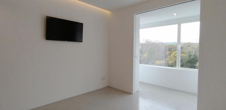 Quarto ARCHDESIGN LX Quartos minimalistas MDF Branco