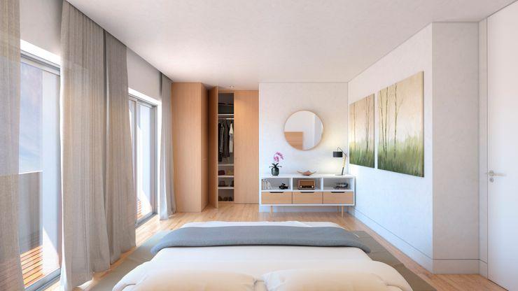 Quarto Propriété Générale International Real Estate Quartos modernos
