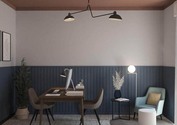 Appartamento in Piacenza - 70mq - Il primo ufficio, la seconda proposta Bongio Valentina Studio moderno
