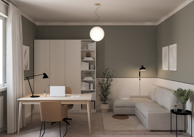 Appartamento in Piacenza - 70mq - Il secondo ufficio Bongio Valentina Studio moderno