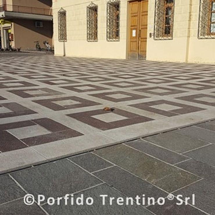 PORFIDO TRENTINO SRL 지중해 스타일 쇼핑 센터 돌 멀티 컬러