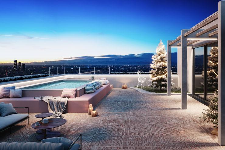 SpaSpace® è la piscina ideale per il tuo terrazzo. Aquazzura Piscine Vasche idromassaggio