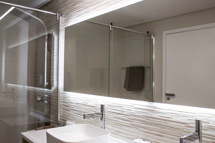 Plan-C Technologies Lda Ванная комната в стиле модерн