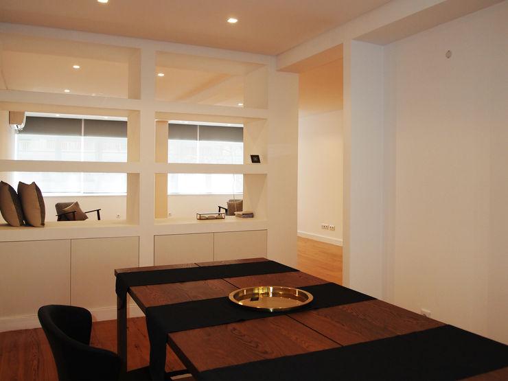 Sala de Jantar ARCHDESIGN LX Salas de jantar modernas MDF Branco