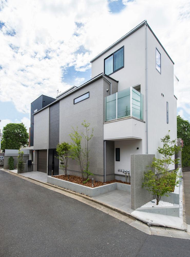 TERAJIMA ARCHITECTS/テラジマアーキテクツ 現代房屋設計點子、靈感 & 圖片 White